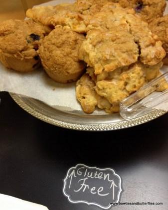 Gluten free scones and muffins