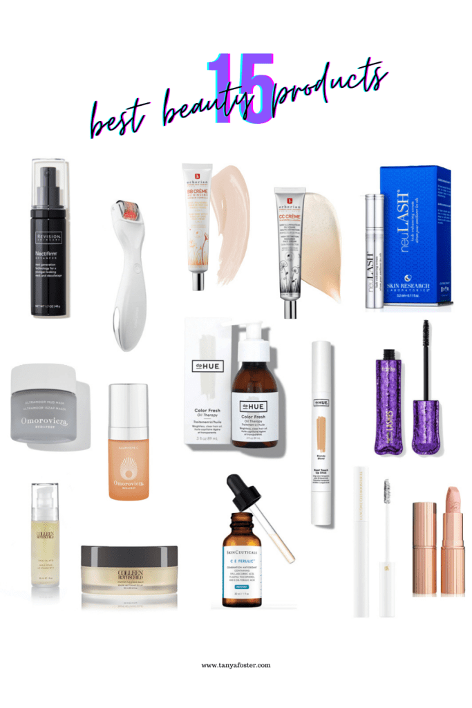 15 best beauty products haircare skincare and makeup products
