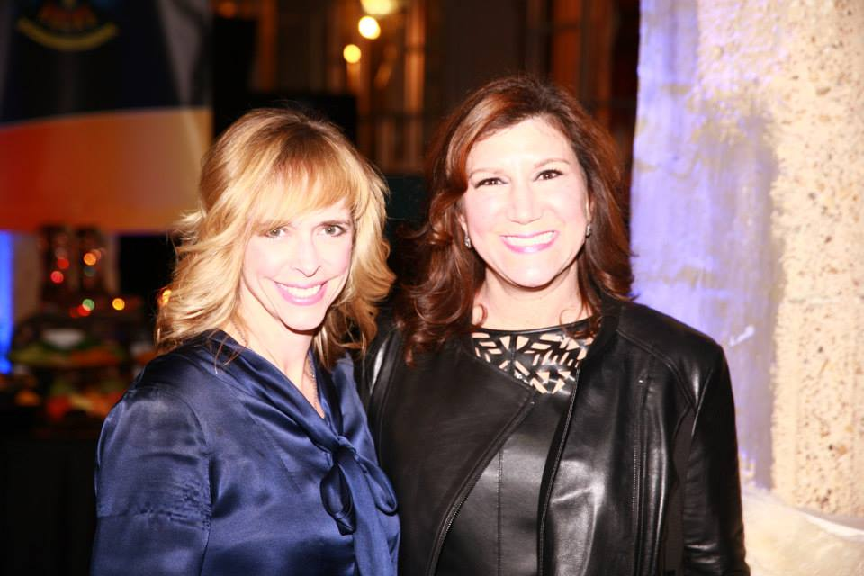 Cindy Stager and Jill Tananbaum, Cattle Baron's Ball Co-Chairs Photo: Holt Haynsworth