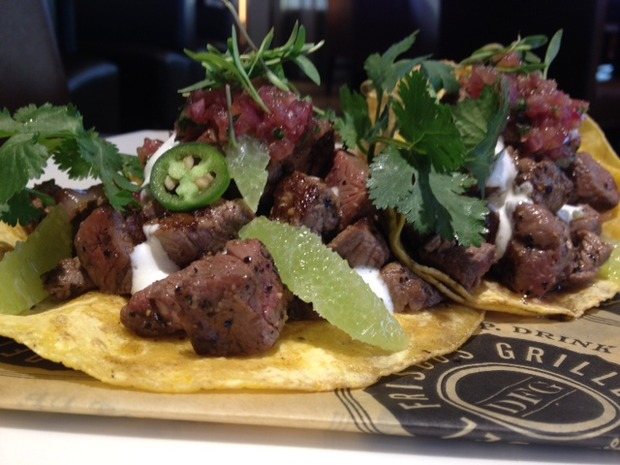 SUPER BOWL RECIPE: Prime Steak Tacos with Charred Onion Salsa