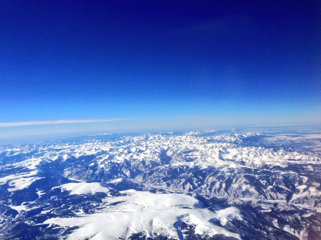 Sundance:  Somewhere in the air over beautiful Utah