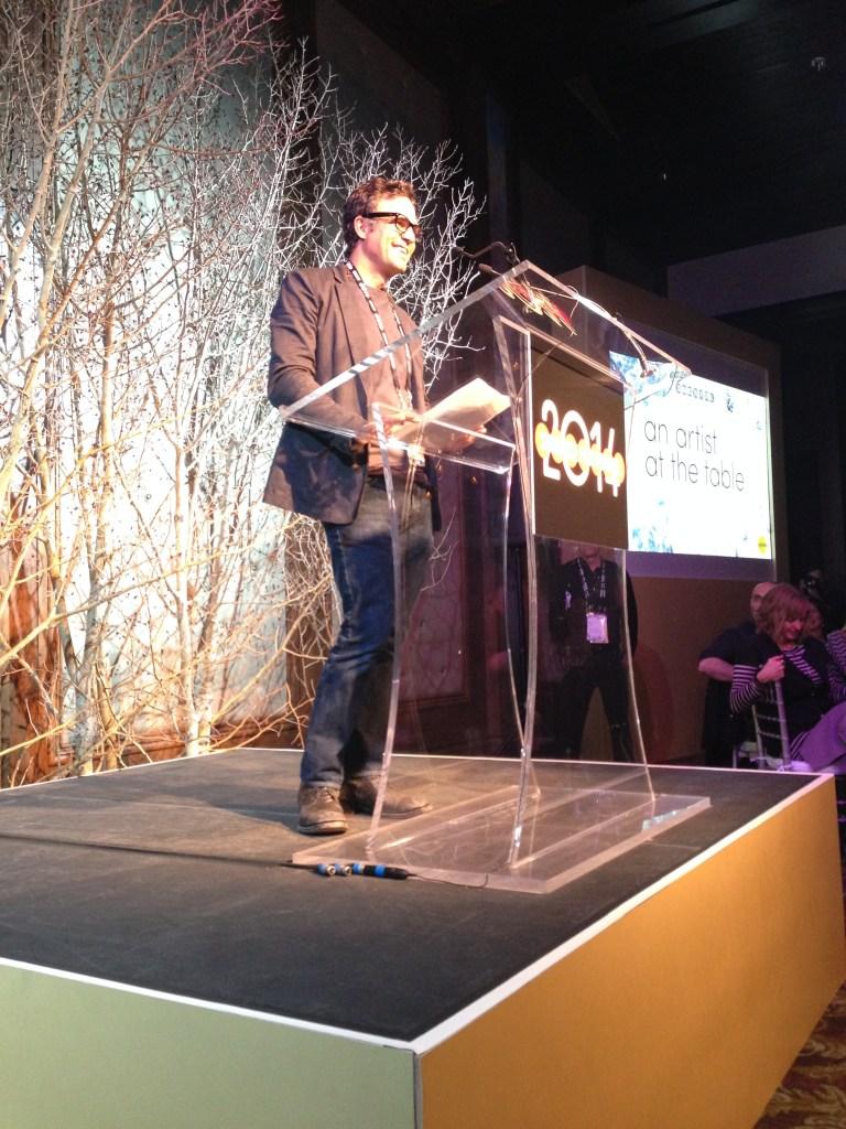 Sundance:  Mark Ruffalo at the Artist at the Table event