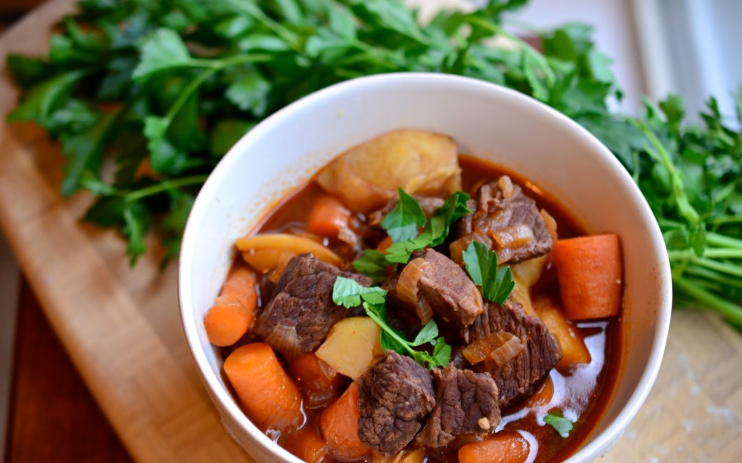 what's for dinner…beef stew