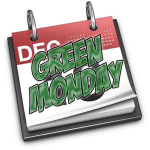 green monday shopping