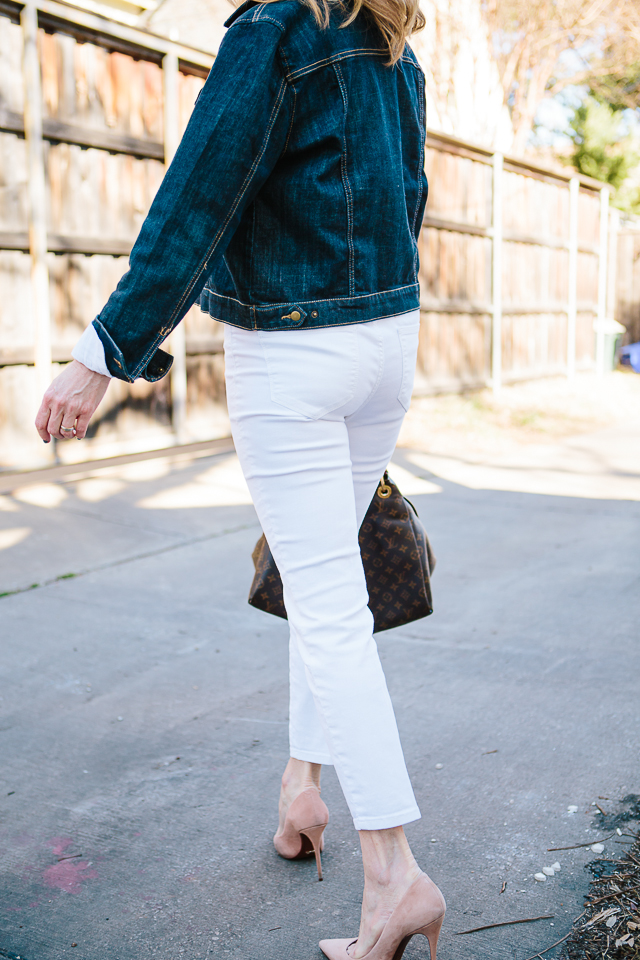 Tanya Foster - white jeans