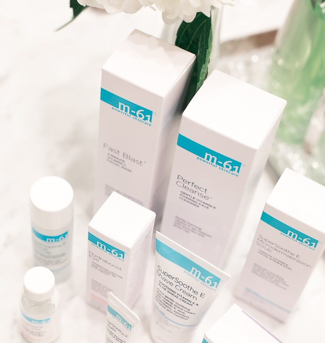 trying Bluemercury M-61 products