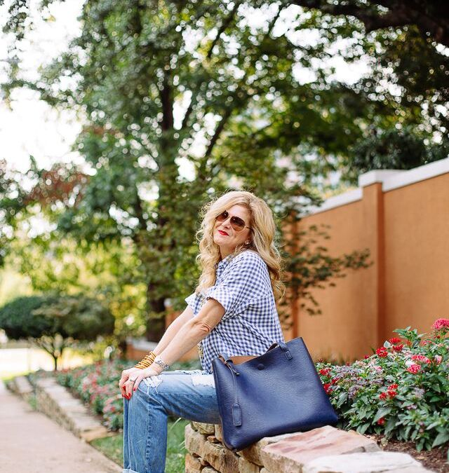 Labor Day weekend casual denim