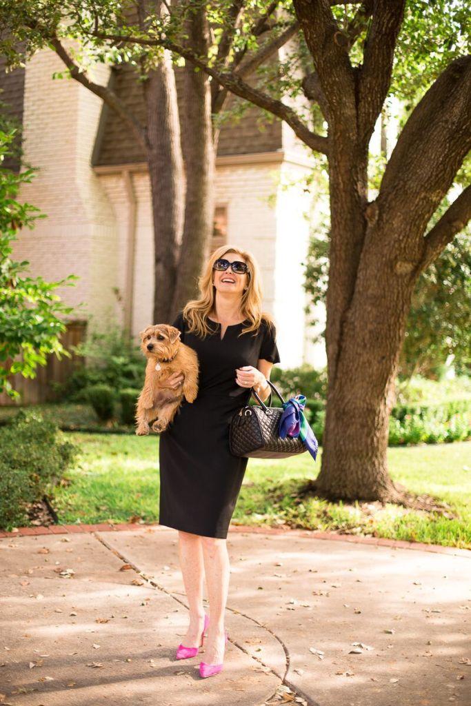 LBD, FilmFashionFun.com, Tanya Foster, Talbot's