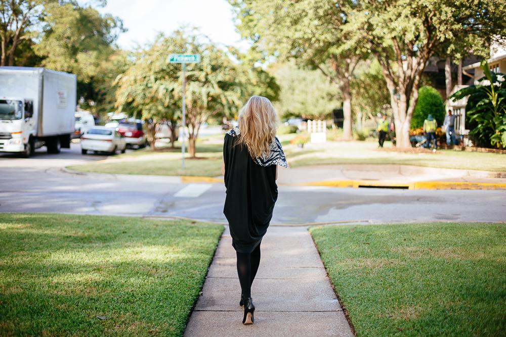 BCBG Maxazria Dress, Tanya Foster, FilmFashionFun.com