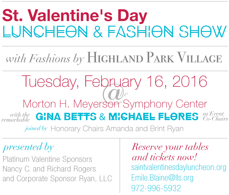 St. Valentine's Day Luncheon and fashionshow 2016, TanyaFoster.com