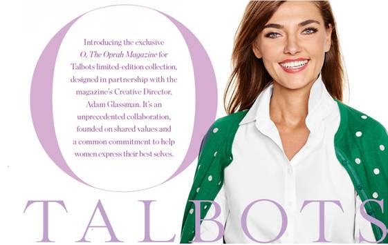O collection at Talbots, Oprah Winfrey, Talbots, tanyafoster.com