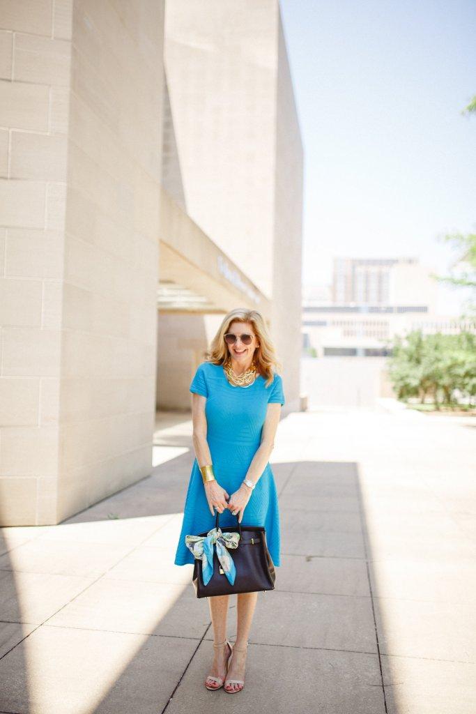 talbots dress, hermes firkin, dior sunglasses, tanya foster, tanyafoster.com
