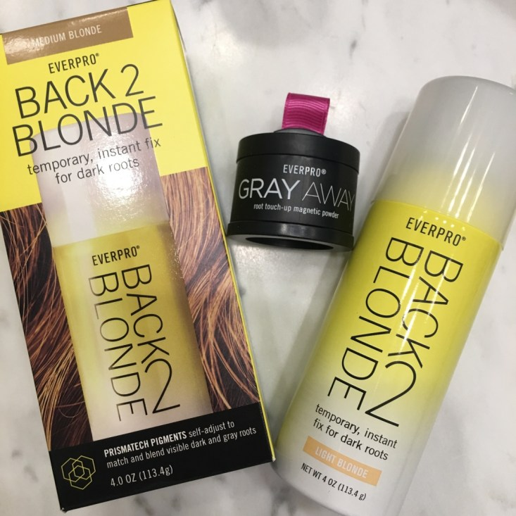 hair care products, back to blonde, color, cover roots, spray