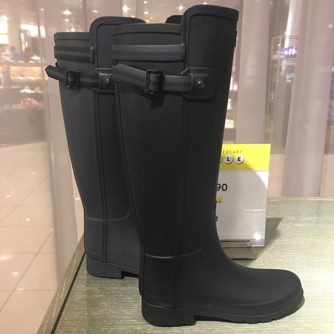Nordstrom Anniversary Sale 2016, Hunter boots, rain boots, black , blue, shoes