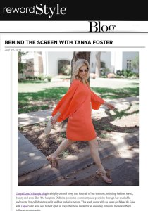 Tanya Foster - Behind the Screen, Tanya Foster, Dallas Lifestyle Blogger, fashion blogger, meet Tanya Foster