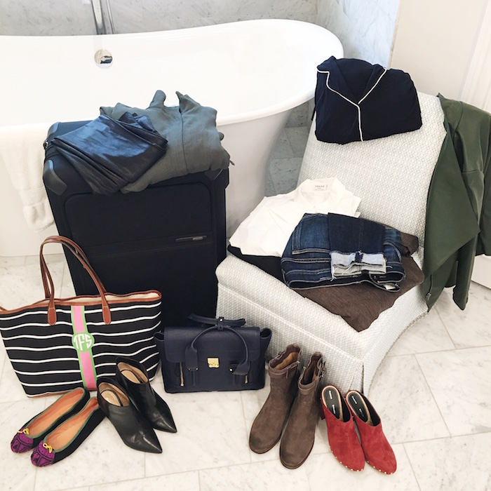 Avenue 32, NYFW packing list, Tumi, how to pack, TanyaFoster.com
