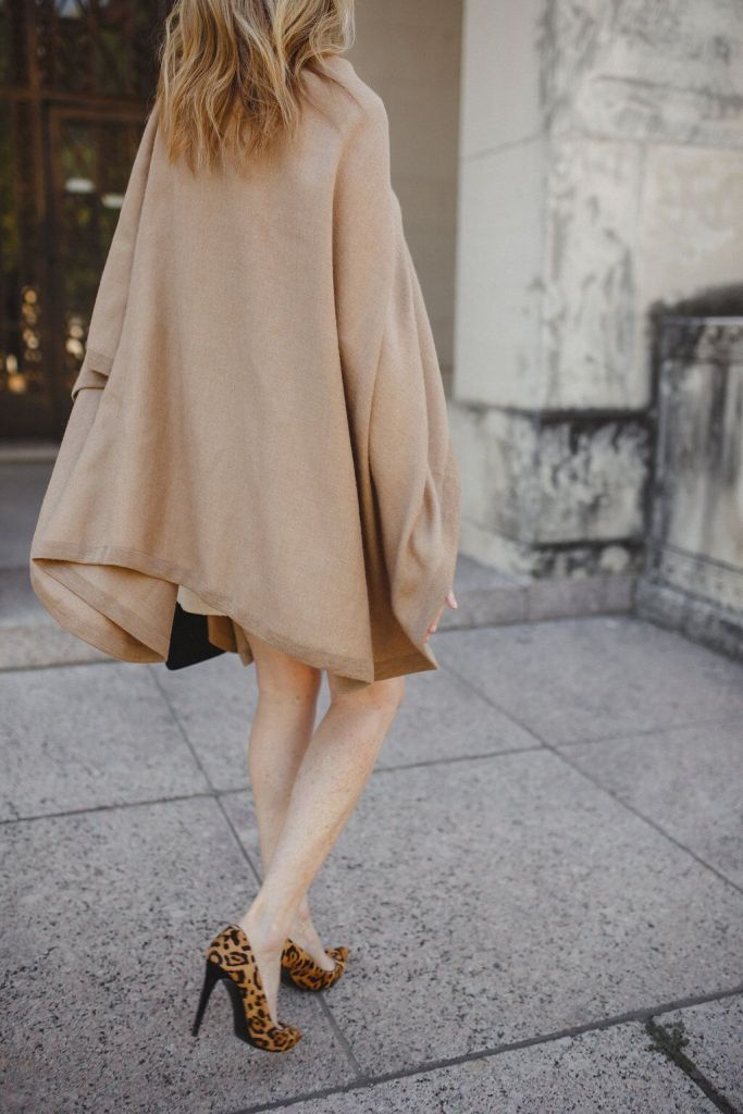 This Cuyana Alpaca cape is the perfect wrap.