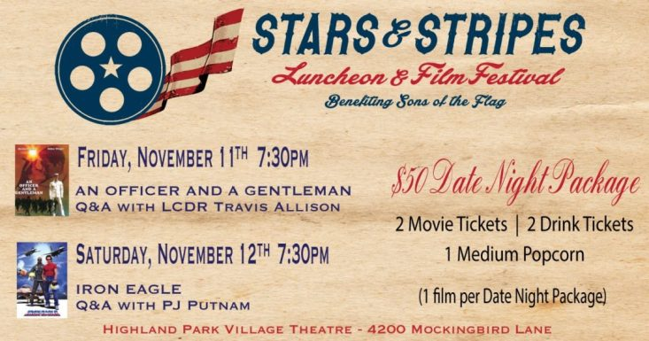 Stars & Stripes Luncheon and Film Festival adds a date night component