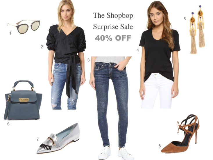 The shopbop surprise sale - jeans, tops, dresses, shoes, accessories, all 40% OFF!