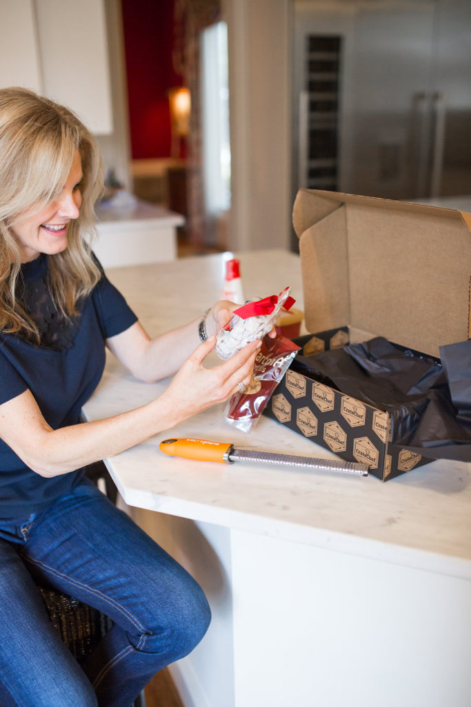 CrateChef curated gourmet box full of non perishable items is a perfect gift.