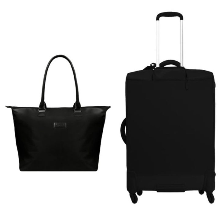 Lipault Paris luggage and tote bag on TanyaFoster.com