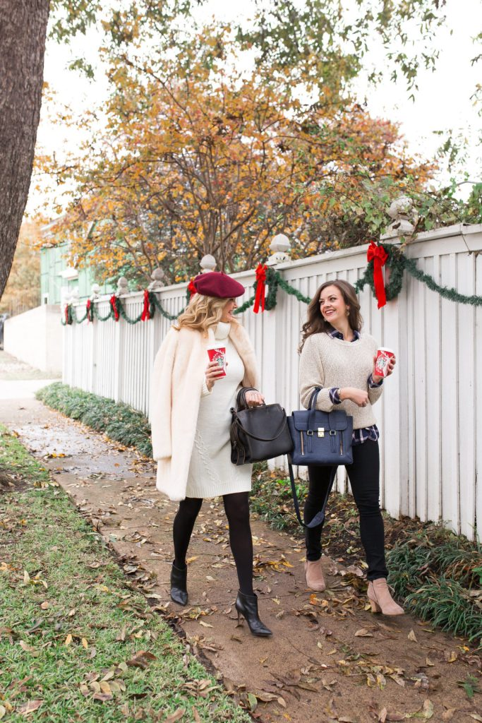 Tanya Foster and Laura Fish show Nordstrom winter 2016 pieces for casual styles on TanyaFoster.com