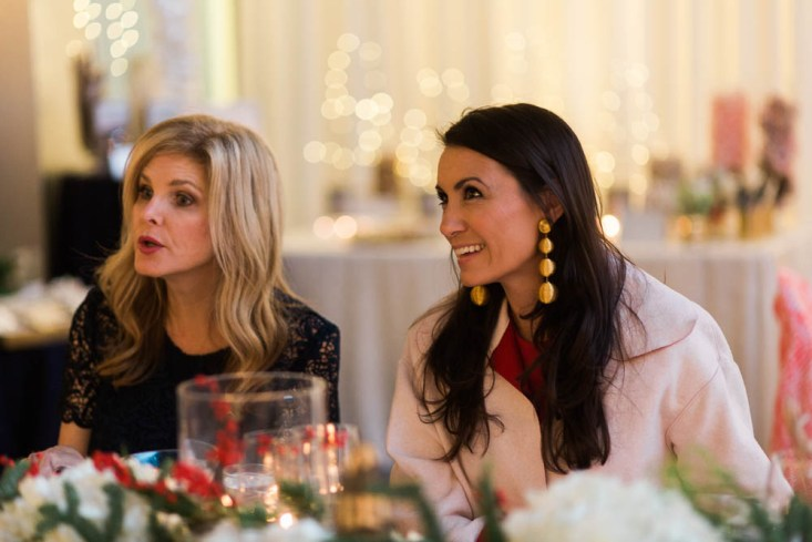 The perfect holiday dinner table with Target at the TargetStyle dinner hosted by Camila Alves.