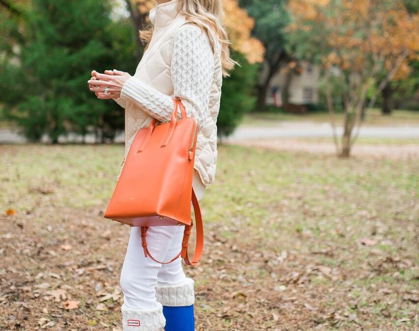 Fall in love with luxurious Sarah White handbags