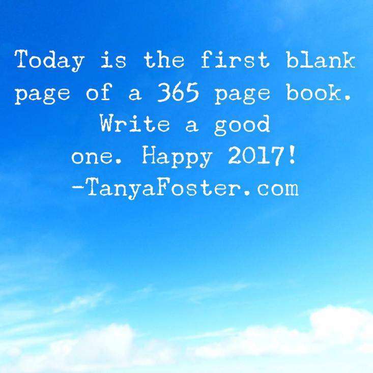 Today is the first blank page of a 265 page book.