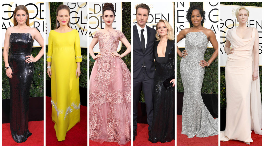 best and worst dressed of golden globes red carpet