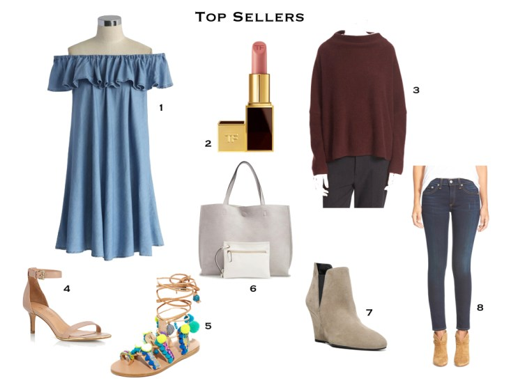 Top Sellers of 2016 on TanyaFoster.com