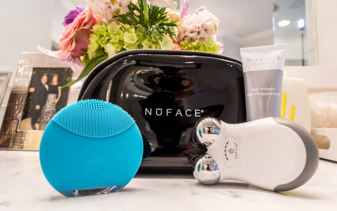Combining FOREO + NuFACE in your skincare routine