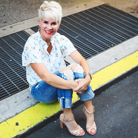 The Fierce 50 Campaign featured by top US fashion blogger, Tanya Foster.