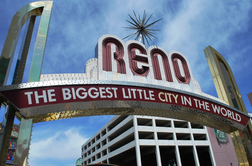 destination: Reno, Nevada