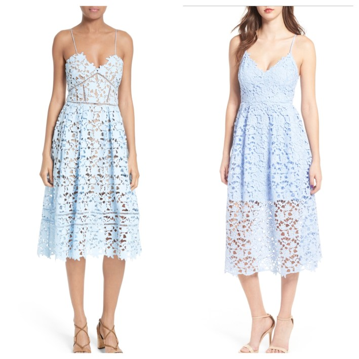 Lace dress for spring 2017 at Nordstrom