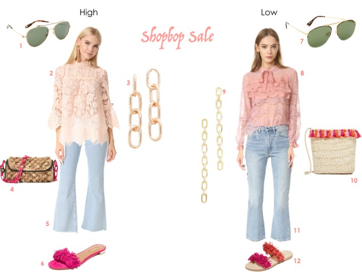 Check out how to style a spring look with Shopbop.