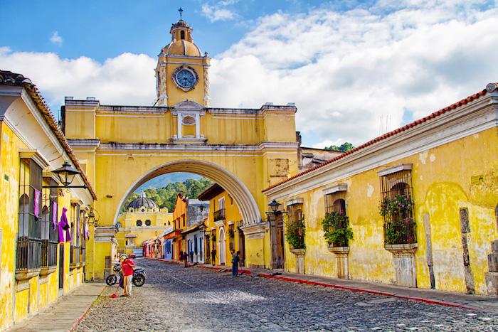 destination: Antigua, Guatemala