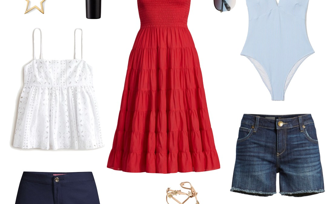 Red, White & Blue Inspiration: 4th of July Outfit Ideas