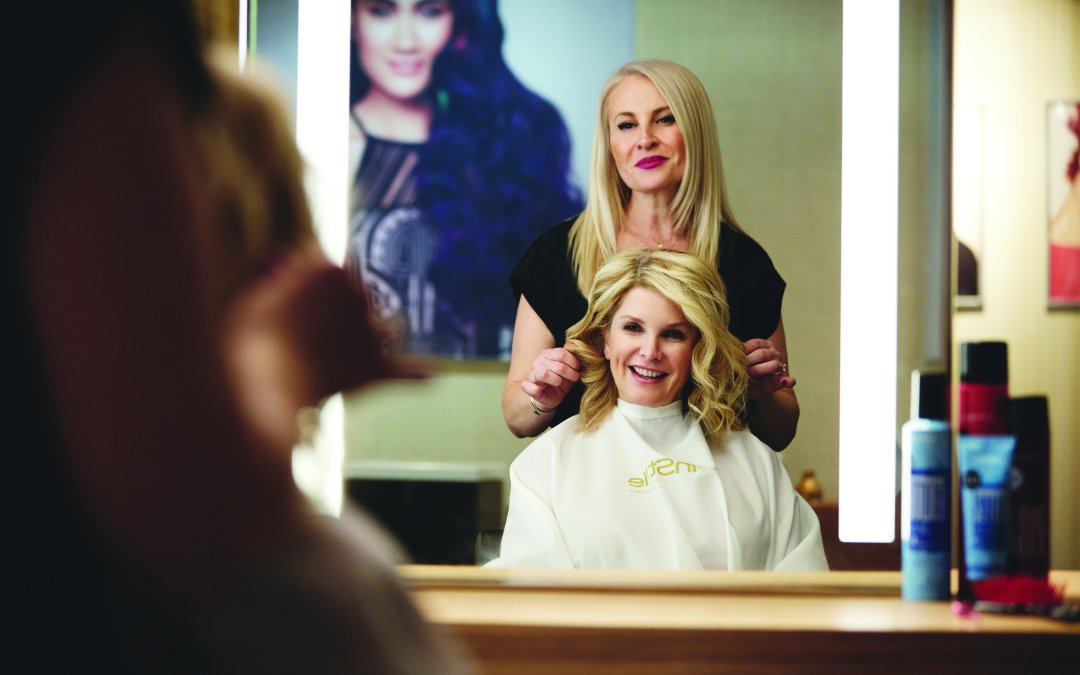 InStyle Salon Shoot : Behind the Scenes