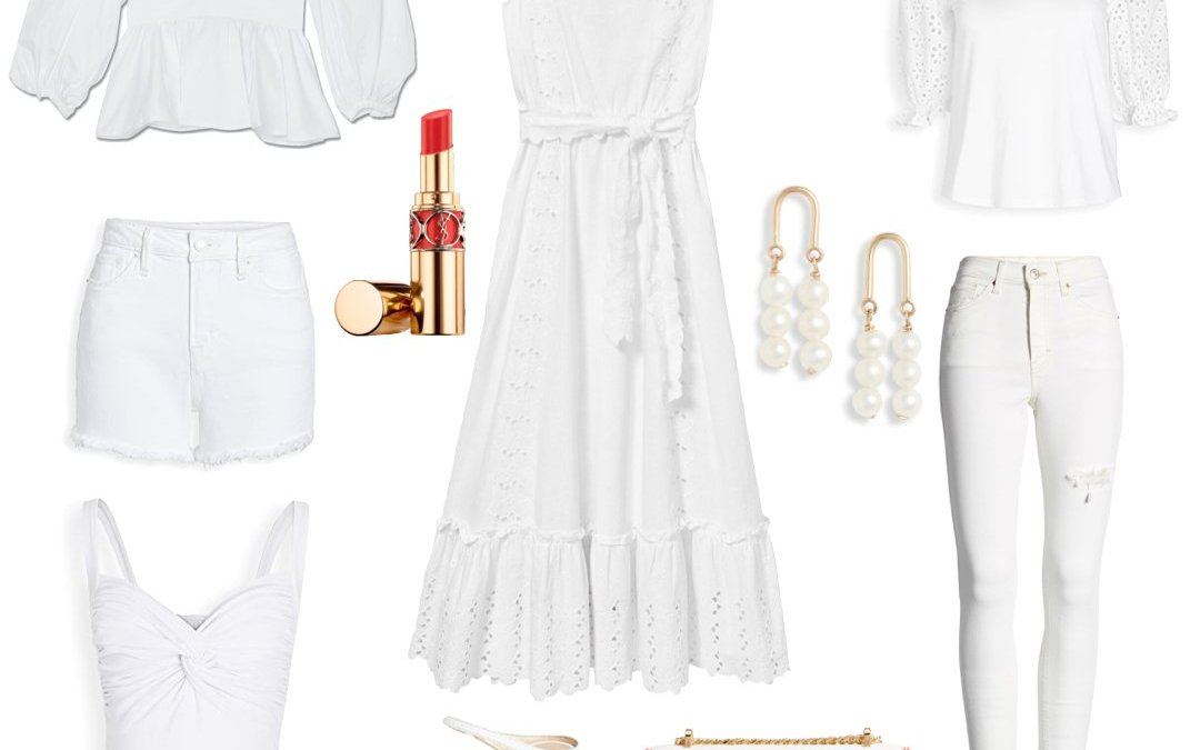 Stylish All White Outfits For Summer 2020