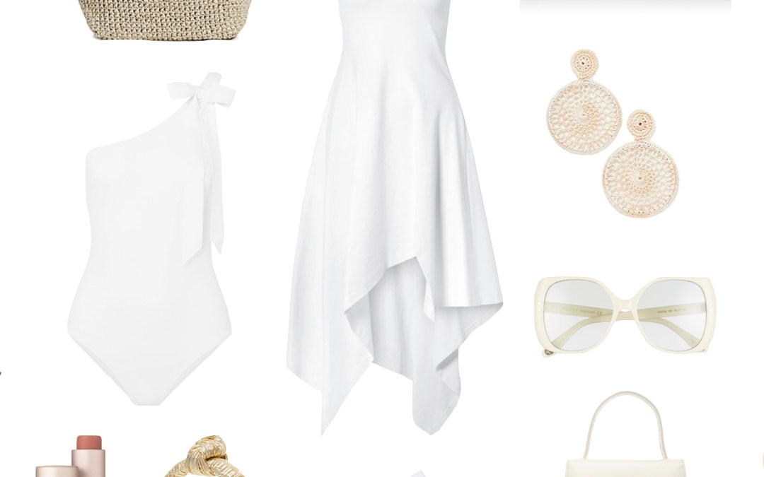 Stylish All White Outfits For The Summer