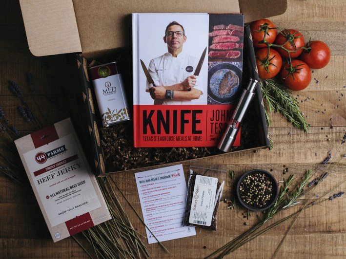 Crate Chef makes the perfect gift and now has one featuring Chef John Tesar.