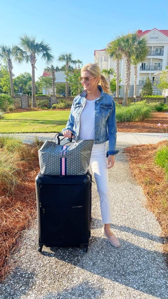 Charleston Beach Club travel look