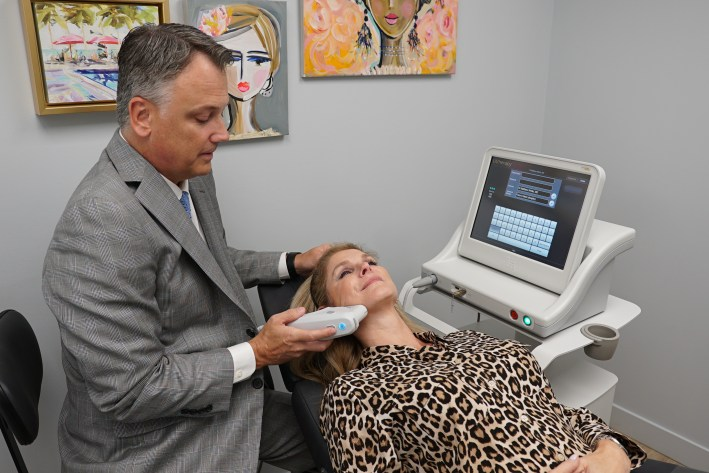 Ultherapy with Dr. Matthew White on TanyaFoster.com