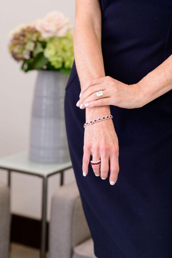 Diamonds Direct rings and bracelet