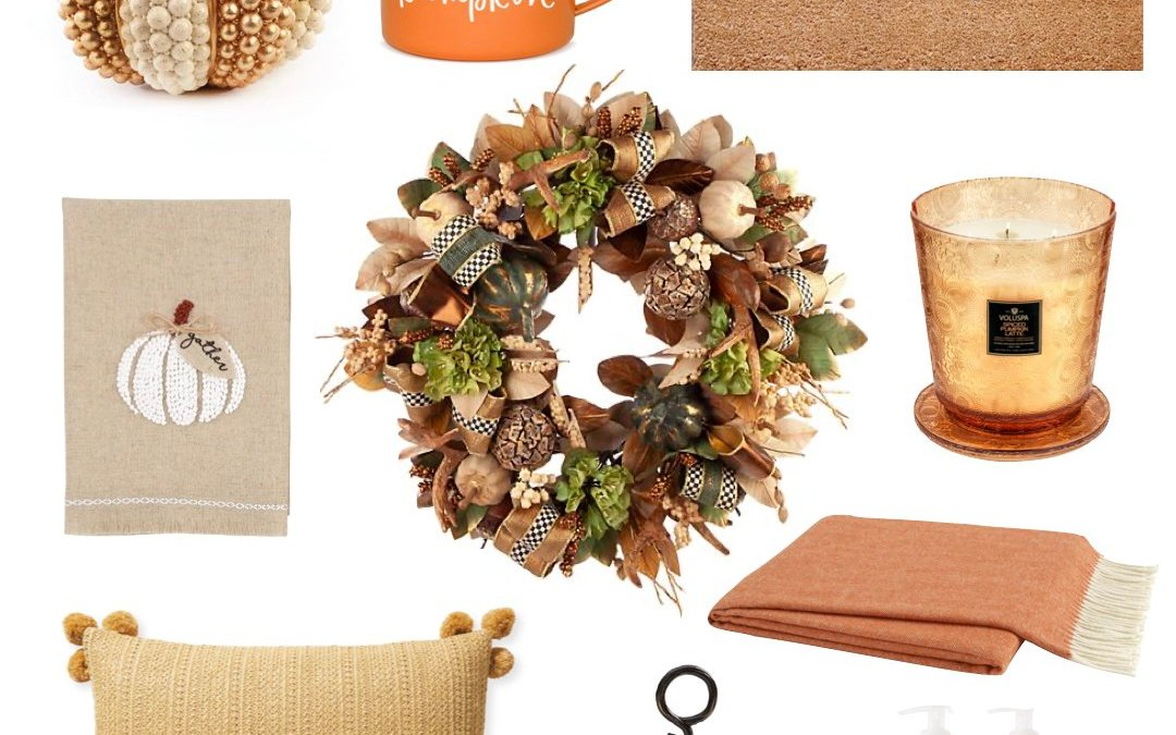 2020 Fall Home Decor Ideas