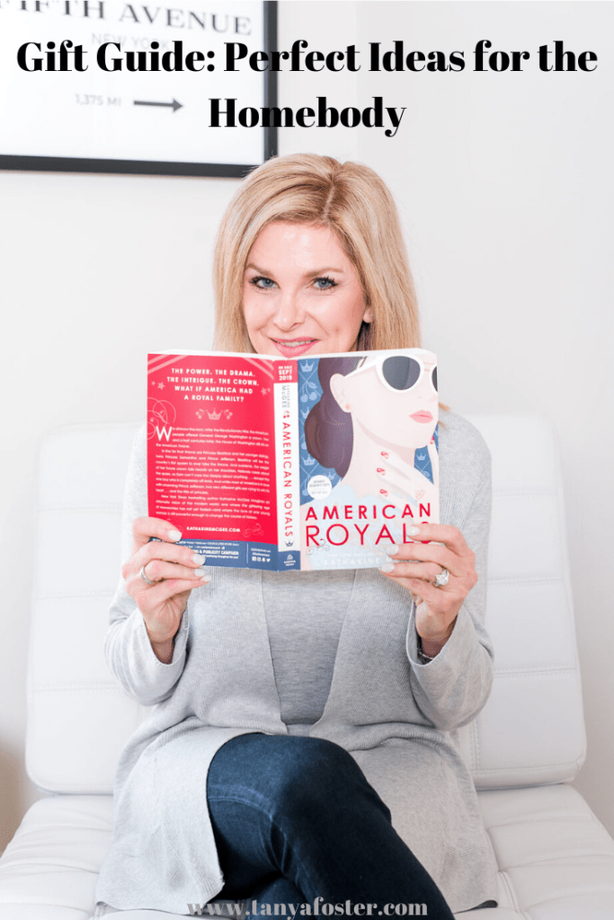 Tanya Foster enjoying American Royals while relaxing at home
