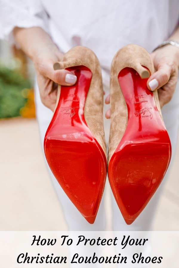 2afb00543005 How to protect your Christian Louboutin shoes