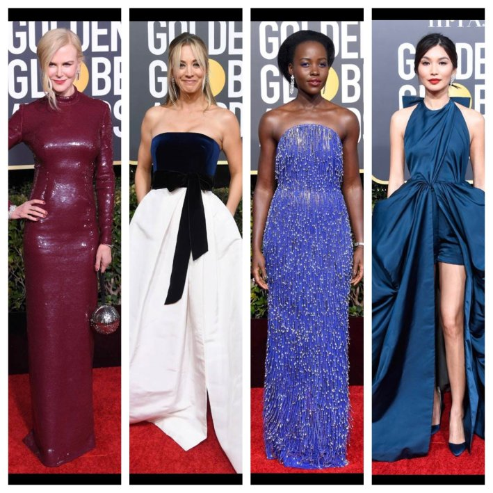 2019 Golden Globes Fashion Review on TanyaFoster.com