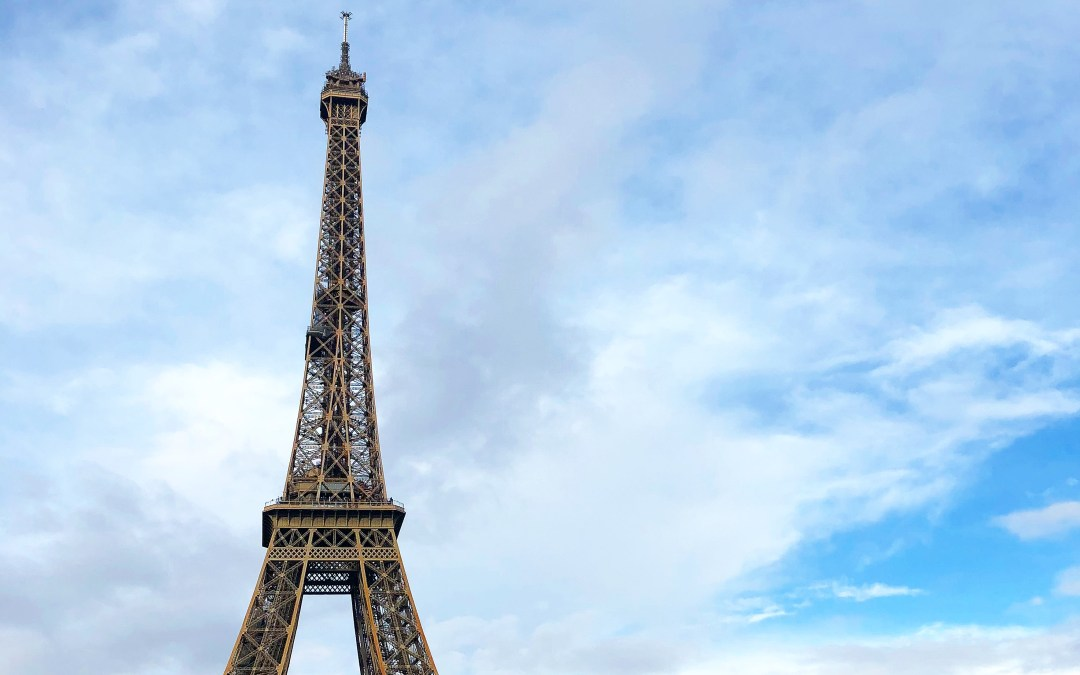 Destination: Paris, France in the winter